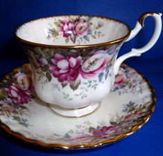 Royal Albert Autumn Roses - have a whole set inherited from my mom :-)