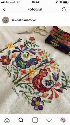 Tiny Cross Stitch, Cross Stitch Borders, Cross Stitch Patterns, Ribbon Embroidery, Cross Stitch Embroidery, Embroidery Patterns, Cross Love, Fiber Art, Needlepoint