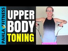 (32) Beginner UPPER BODY with RESISTANCE BAND | 25 Minute Arm Toning Workout for BEGINNERS - YouTube