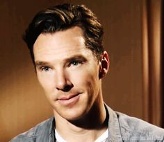 This pin is all about the adorableness of Mr. Benedict Cumberbatch. you are welcome.
