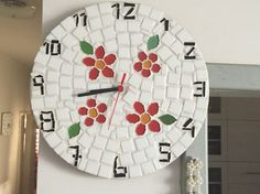 Relógio em mosaico!