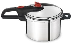 T-fal P2614634 Secure Aluminum Initiatives Pressure Cooker Cookware, 6-Quart, Siver *** You can get more details by clicking on the image.