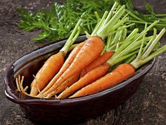 Select fresh, organic carrots, and you are well on your way to making this tangy side dish, which can also serve as an appetizer.