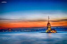 Maiden Tower - Miaden's Tower / Istanbul (Turkey)  http://www.instagram.com/hsb1905 http://www.facebook.com/hsb1905