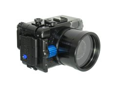 Recsea Japan releases aluminium housing for Canon G7X.  In a Compact and durable, CNC precision machined corrosion-resistant aluminium and acrylic  housing.  Lightweight, ergonomically designed.  Maximum Operating Depth (MOD) of 50 meters (164 feet).  Fixed Lens Port with built in M67 Adapter.  Port Control Ring Dial.  Control Wheel push button functions.  New RECSEA dial locking system for easier opening and closing.  Quality silicone O-ring.  Complete camera function control.