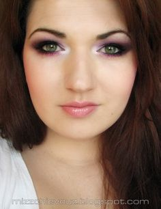 MissChievous.tv: BRIGHT Hot pink and Purple Look