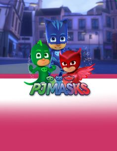 pj-masks-cupcake-scalloppj-masks-invitations-girlpj-masks-invitations PJ Masks Cupcakes PJ Masks Banner PJ masks Water bottle pj-masks-birthday-banner