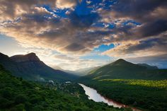 landscape photograph of a dramatic sunset near the Abel Erasmus Pass that leads to the lowveld and kruger national park, mpumalanga, south africa