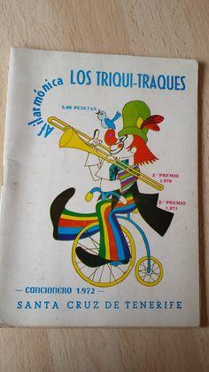 Vendo cancionero Afilarmonica Triqui Traques año 1972. Carnaval de Santa Cruz de Tenerife. Comparto aquí: http://www.todocoleccion.net/coleccionismo-revistas-periodicos/afilarmonica-triqui-traques-cancionero-1972~x49924836