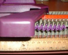 Paper Clip Cast on Comb