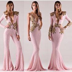 Rich color gold sequin soft baby blush pinks for spring . #michaelcostello Model @millsie0131 Photog @jackiegallardophoto Hair @laurenbateshair Make up @narsuzo Studio @hubblestudio la