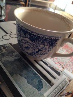 Special cup...thanks Kaz #inbetweengreens.com