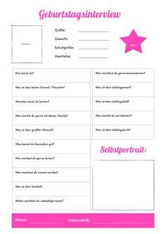 Geburtstagssteckbrief-kindergarten