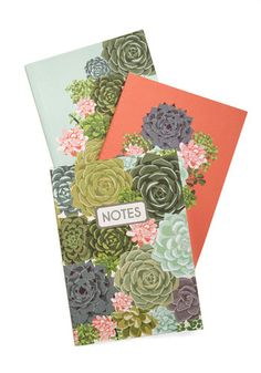 Grows My Mind Notebook Set.  #gold #prom #modcloth