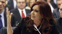 Cristina Fernandez de Kirchner Argentinen Vereinten Nationen Falklandinseln (AP)