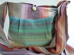Wrap Conversion Sling Bag  Girasol Amitola by TurkandBean on Etsy, $175.00