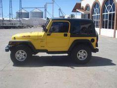 jeep wrangler toldo duro 2000 amarillo
