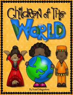 Children of the World and Country Research Scrapbook; Perfect for cultural awareness; $