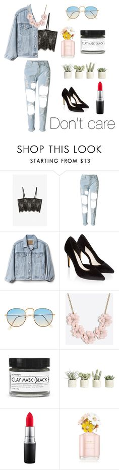 """""""Calm but dangerous"""" by laurenbyrne1 ❤ liked on Polyvore featuring Monki, WithChic, Gap, Monsoon, J.Crew, Fig+Yarrow, Allstate Floral, MAC Cosmetics and Marc Jacobs"""