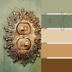 Vintage Color scheme, love it!