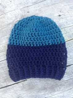 Crochet slouch beanie by RusticValley on Etsy