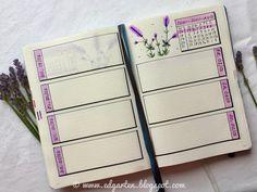 Edgarten - Gartenblog: 📘  Bullet Journal - Juni mit Lavendel - Tag 78 Bullet Journal, Juni, Homeschooling, Notebook, Small Notebook, Day Planner Organization, Doodle Ideas, Lavender, Holiday