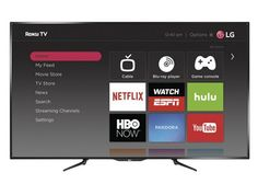 ) LED Smart HDTV Roku TV at Best Buy. Find low everyday prices and buy online for delivery or in-store pick-up. New Netflix, Watch Netflix, Smart Televisions, Bargain Hunt, Tv Store, Daily Deals Sites, Watch News, Deal Sites, New Years Sales