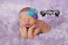 Sweet Newborn Girl.