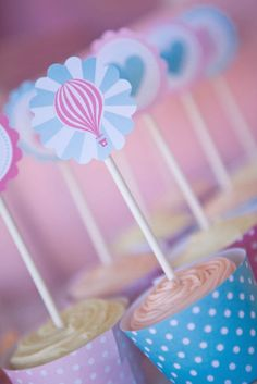 Birthday Party Ideas - Blog - HOT AIR BALLOON PARTY