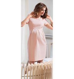 robe rose pale grossesse