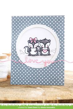 the Lawn Fawn blog: Lawn Fawn Intro: Scripty XOXO, I Love You Border and New Coordinating Dies