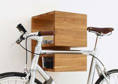 Cool and stylish idea to store your bike in your apartment!