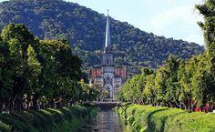 Catedral de Petrópolis, região serrana do Rio de Janeiro