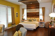 cabeceros de cama dormitorio moderno ideas madera