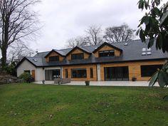 SDA Architecture | Green Belt Property Refurbishment | Studio SDA Dormer Bungalow, Modern Bungalow House, Bungalow Designs, Bungalow Renovation, Bungalow Exterior, Dream House Exterior, House Extension Plans, House Extension Design, Extension Designs