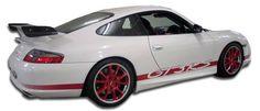 1999-2004 Porsche 996 C2 C4 Duraflex GT-3 RS Look Side Skirts Rocker Panels - 2 Piece