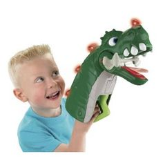 Amazon.com: Fisher-Price Imaginext Spike Jaws Ultra Dinosaur: Toys & Games--for Owen
