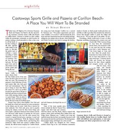 Susan Benton-30A EATS Article in Thirty-A Review on Castaways.