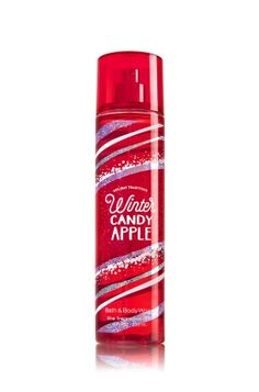 Winter Candy Apple - Fine Fragrance Mist - Signature Collection - Bath & Body Works - Lavishly splash or lightly spritz your favorite fragrance, either way you'll fall in love at first mist! Our carefully crafted bottle and sophisticated pump delivers great coverage while conditioning aloe mist nourishes skin for the lightest, most refreshing way to fragrance!
