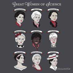 Women of science.