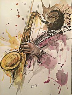 Jazz player by NAcaNs on DeviantArt