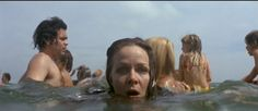 """These """"water-level"""" shots in Steven Spielberg's JAWS opened my eyes to the idea that someone (the director) was choosing HOW we watched the movie -- and causing us to feel something bc of those shots. Thanks, Steven. Now I'm a filmmaker. Jaws 1, Jaws Movie, See Movie, Ghost Movies, Perfect Movie, Open My Eyes, Expresso, Steven Spielberg, Hai"""