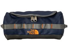 The North Face Base Camp Travel Canister - Small Diesel Blue Duo Texture Print - 6pm.com