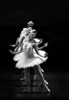 (c) Michael J. Seamans. Boston Ballet performs Swan Lake during a dress rehearsal at the Wang Center.