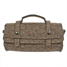 Handbags Bags 45055: Riding Satchel - 10 X 4 Inch Grey, Black -> BUY IT NOW ONLY: $189.95 on eBay!