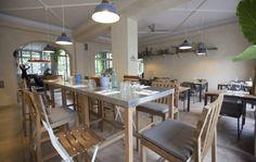 basil green pencil: Al Fresco: The Green restaurant in the centre of Milan