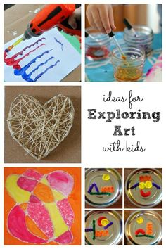 Ideas for Exploring Art with Kids - Housing a Forest
