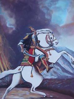 Gjergj Kastrioti Skenderbeu Painting