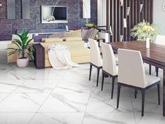 #italtiledreamhome Satin Porcelain - where technology meets tile... The Carrara Satin porcelain white and grey marble tile range is expertly crafted to perfection. The trendy and luxurious range has rectified edges, providing a straight edged finish and, thanks to digital printing technology, a gorgeous satin sheen finish. Grey Marble Tile, White Marble, Interior Designing, Outdoor Furniture Sets, Outdoor Decor, Classic Chic, Carrara, My Dream Home, Tile Floor