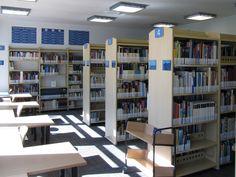 Wnętrza Biblioteki Budownictwa